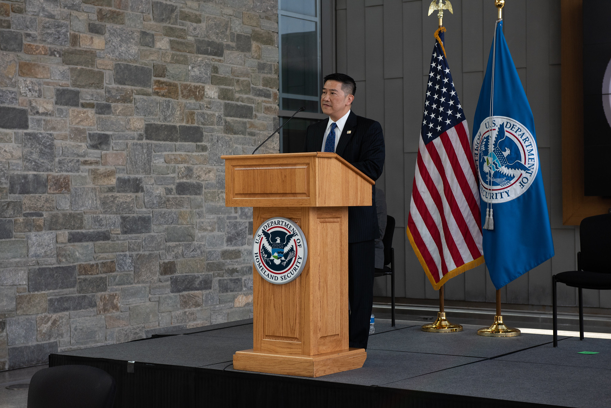 Immigration and Customs Enforcement Acting Director Tony Pham.