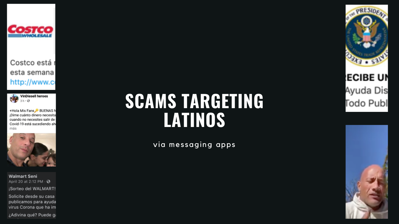 These are some of the scams targeting Latinos