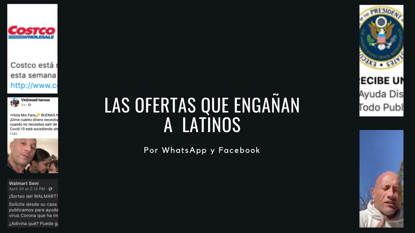 Estos son algunos de los anuncios falsos que engañan a latinos
