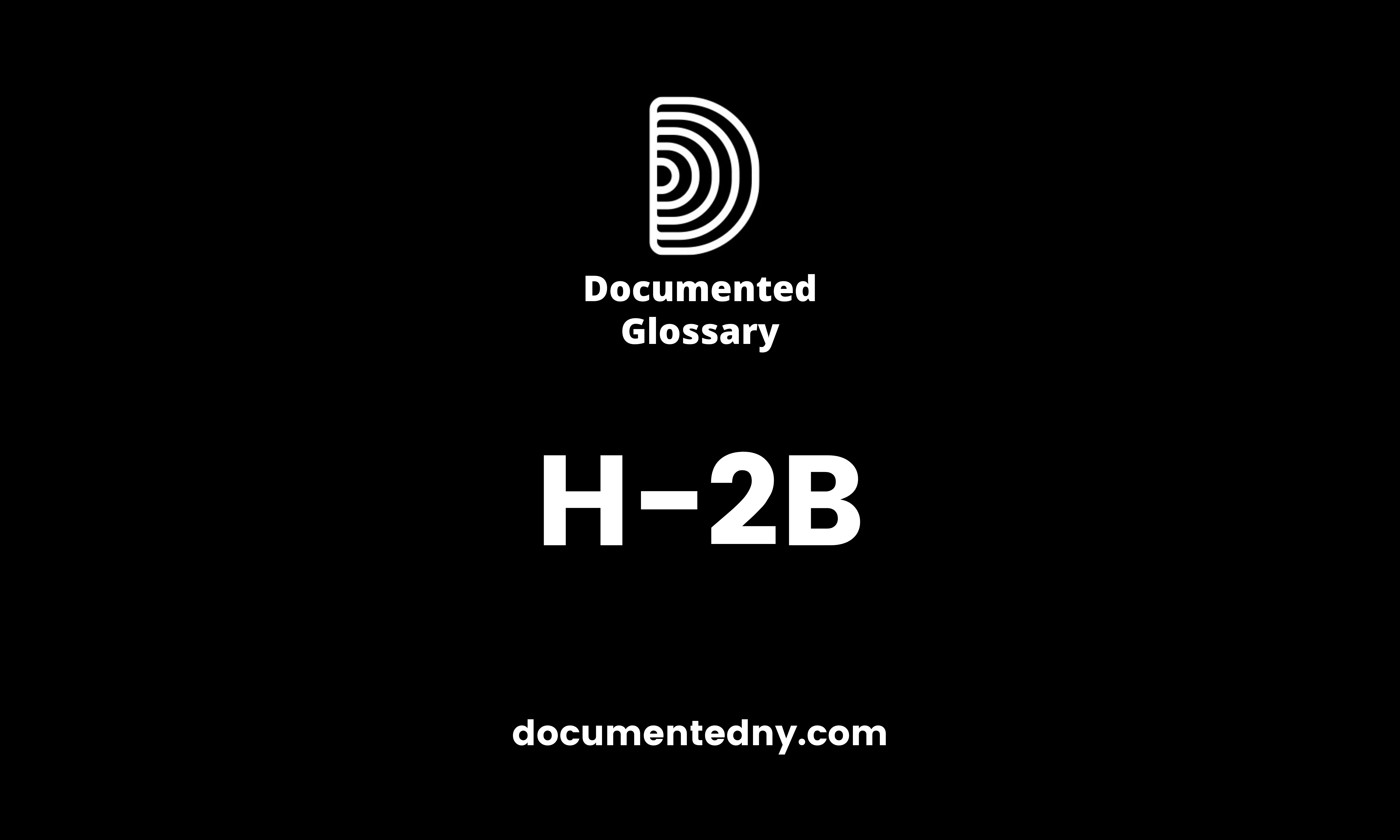 The H-2B program allows U.S. employers or U.S. agents who meet specific regulatory requirements to bring foreign nationals to the United States to fill temporary nonagricultural jobs.
