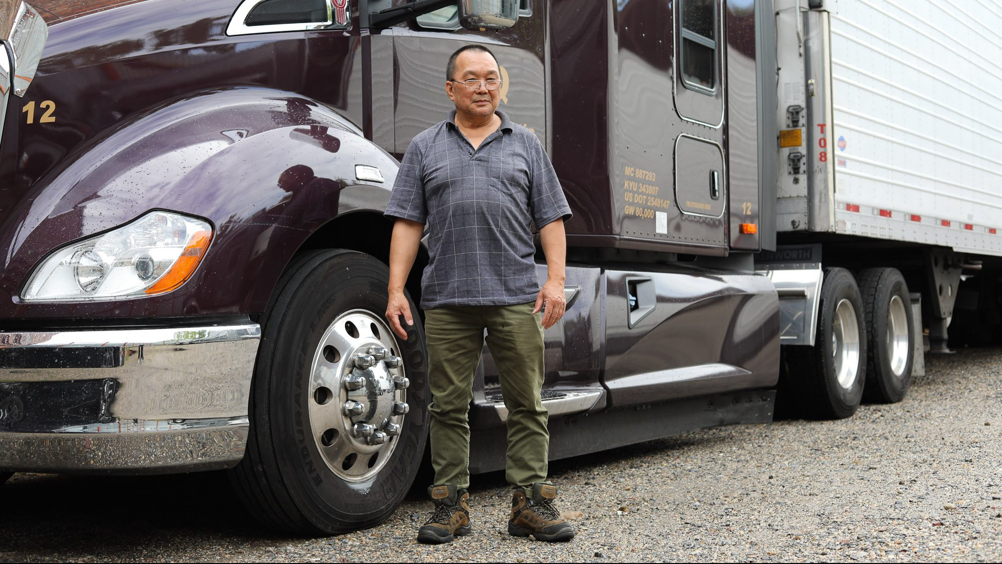 Amid the COVID-19 pandemic, Chinese truck drivers have been overworking to deliver essential goods on deadline, often exceeding their 11 hour on-the-road driving limits.