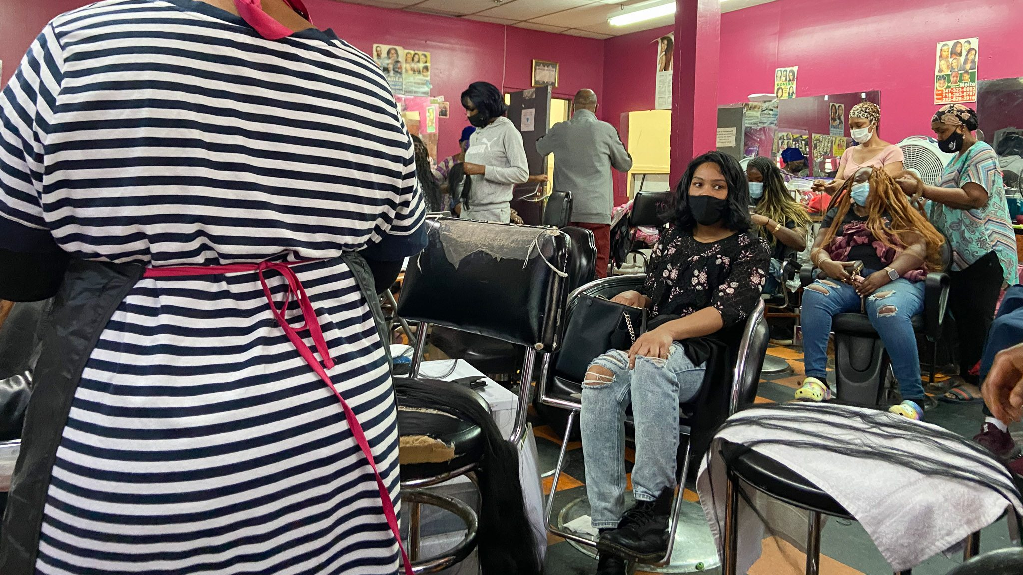 The hair braiding profession has found it especially difficult to recover from the pandemic. This industry is a lifeline that is turning into a dead-end