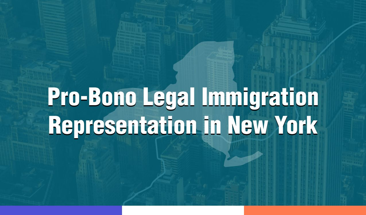 Immigration cases of all kinds can be financially taxing and detrimental to the welfare of the individuals involved. Here is a list of pro-bono lawyers