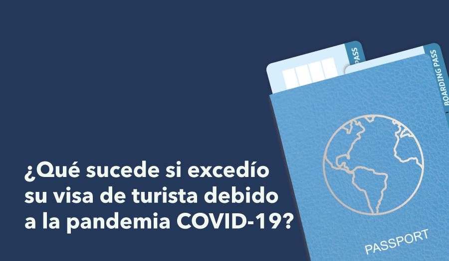 Debido al cierre de aeropuertos como consecuencia del nuevo coronavirus el año pasado, muchos turistas no pudieron salir del país antes de que expirara su visa turista.