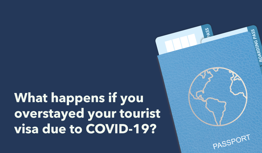 If you overstayed your tourist visa there are options to avoid being banned from reentering. Here is a list of what to do