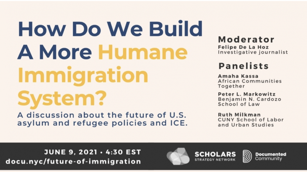 While there is bipartisan agreement that the current system is broken, the book lays the groundwork for a progressive path forward. This was the topic for Documente's third-panel discussion on Immigrant issues: How do we build a more humane immigration system?