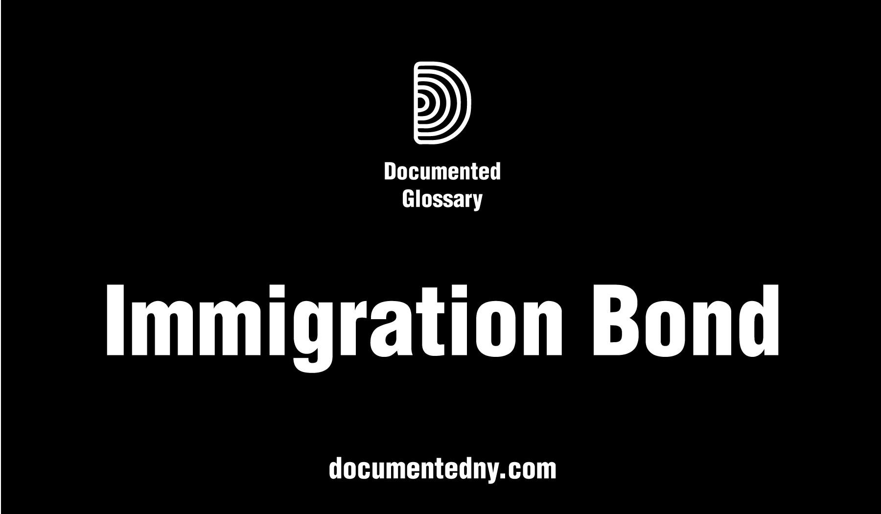 A bond for detained foreign nationals is an amount set by Immigration and Customs Enforcement (ICE), or an immigration judge, which secures the release of the detainee under the agreement that, once out of detention, the bonded individual will attend all immigration court hearings.