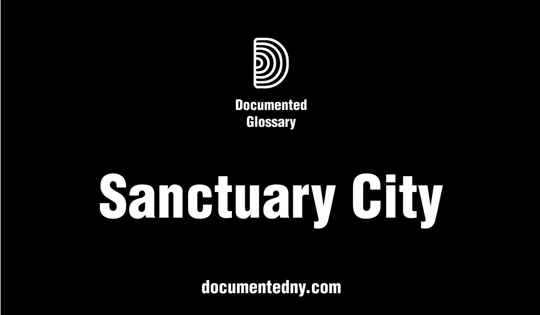 A city (or county or state) is considered a sanctuary when it has adopted policies designed to limit its cooperation with federal immigration enforcement agents to protect low-priority immigrants from deportation, while still turning over those who have committed serious crimes.