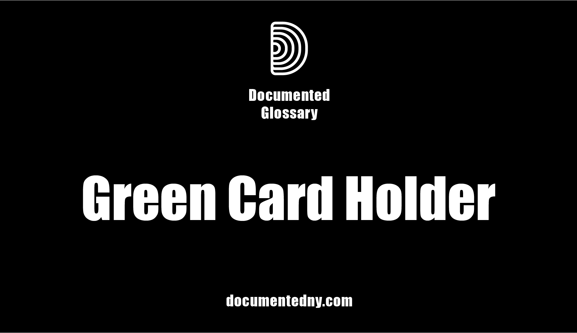 A green card, officially known as a Permanent Resident Card, is a physical card that shows that an individual is a permanent resident of the United States and can work and travel anywhere within the U.S.