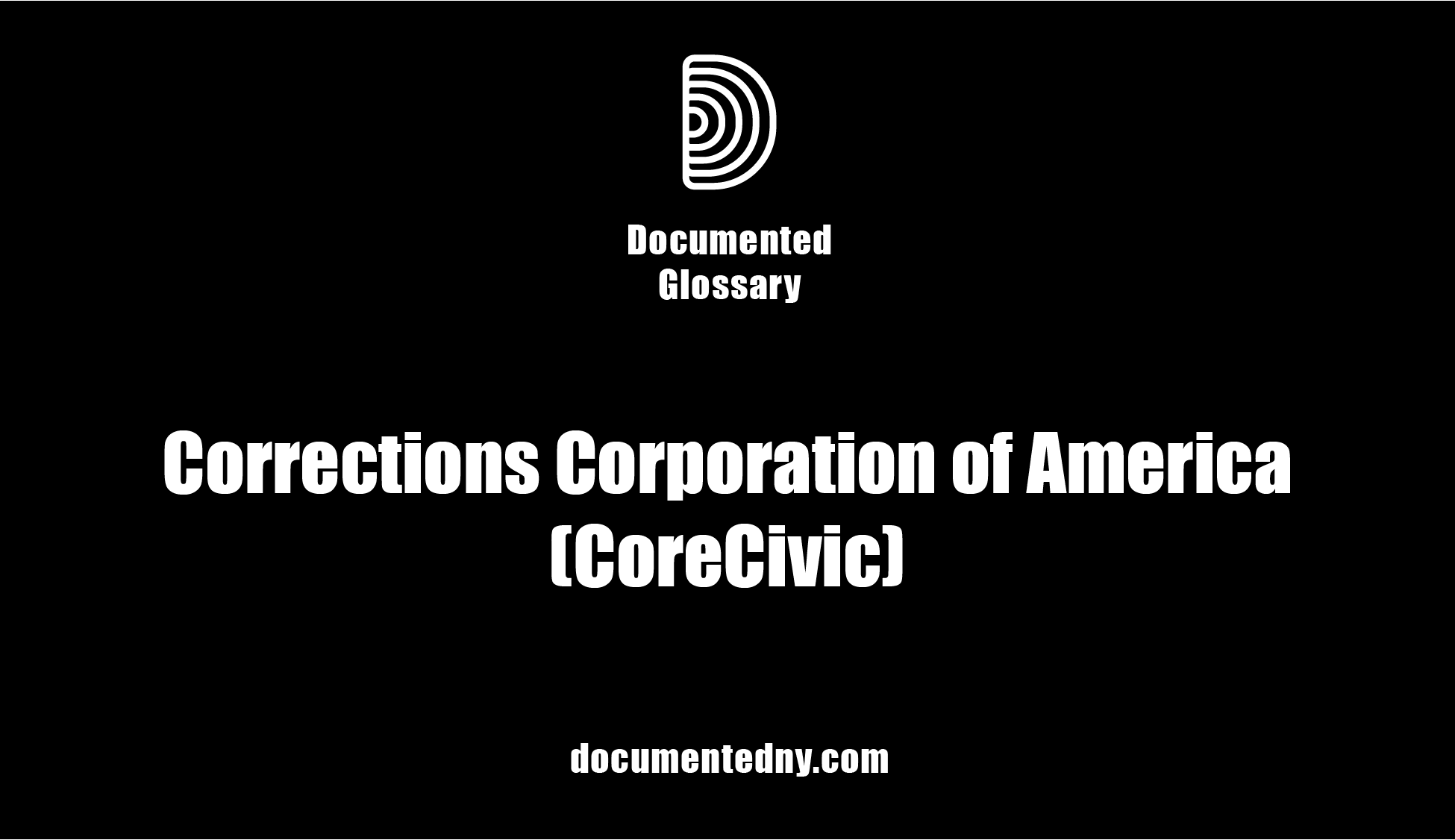 CoreCivic, one of the largest private correctional facilities in the U.S. operates over 70 facilities, 12 of which have contracts with ICE.
