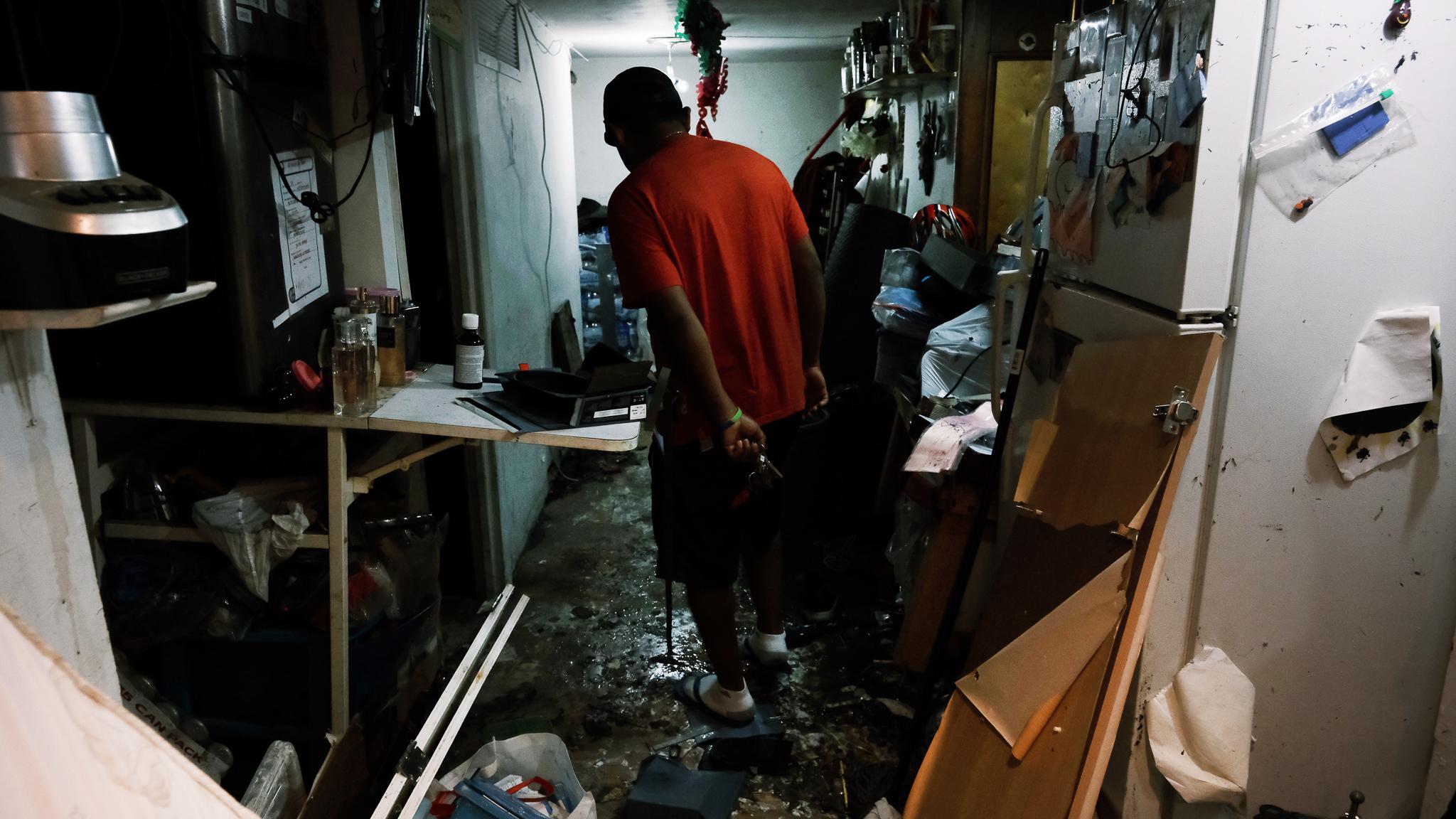 Illegal basement apartments